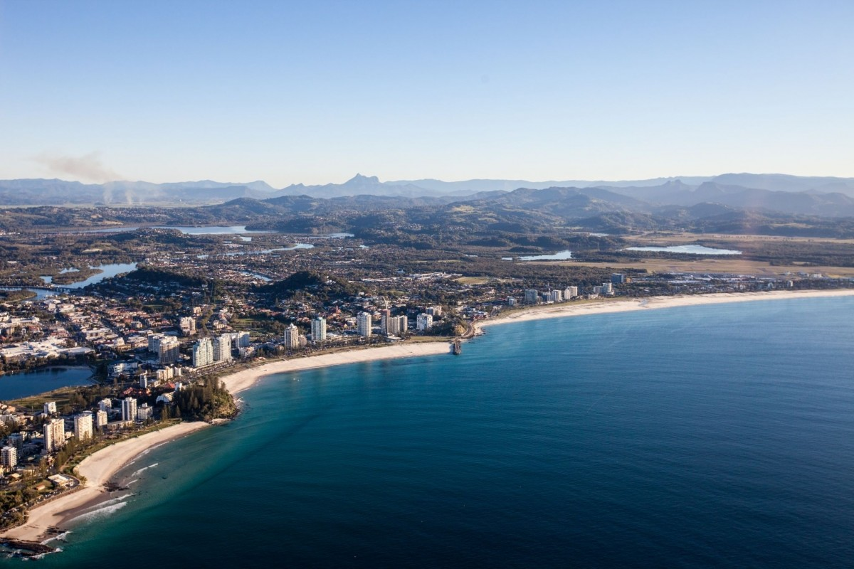 Aerial Photography Scenic Flight View Gold Coast Area 001