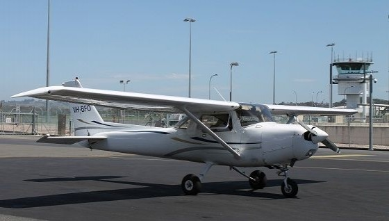 Cessna 172 VH BFO on Apron