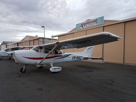 Air Gold Coast Cessna 172R VH NWZ on Apron