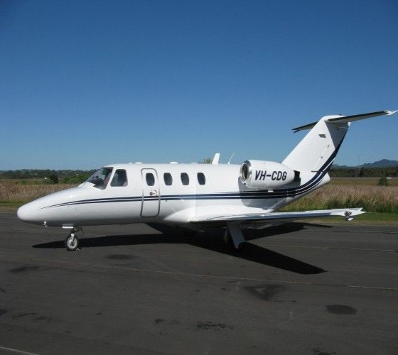 Air Gold Coast Cessna C525 Citation CJ1 Corporate and Executive Charter Jet Aircraft