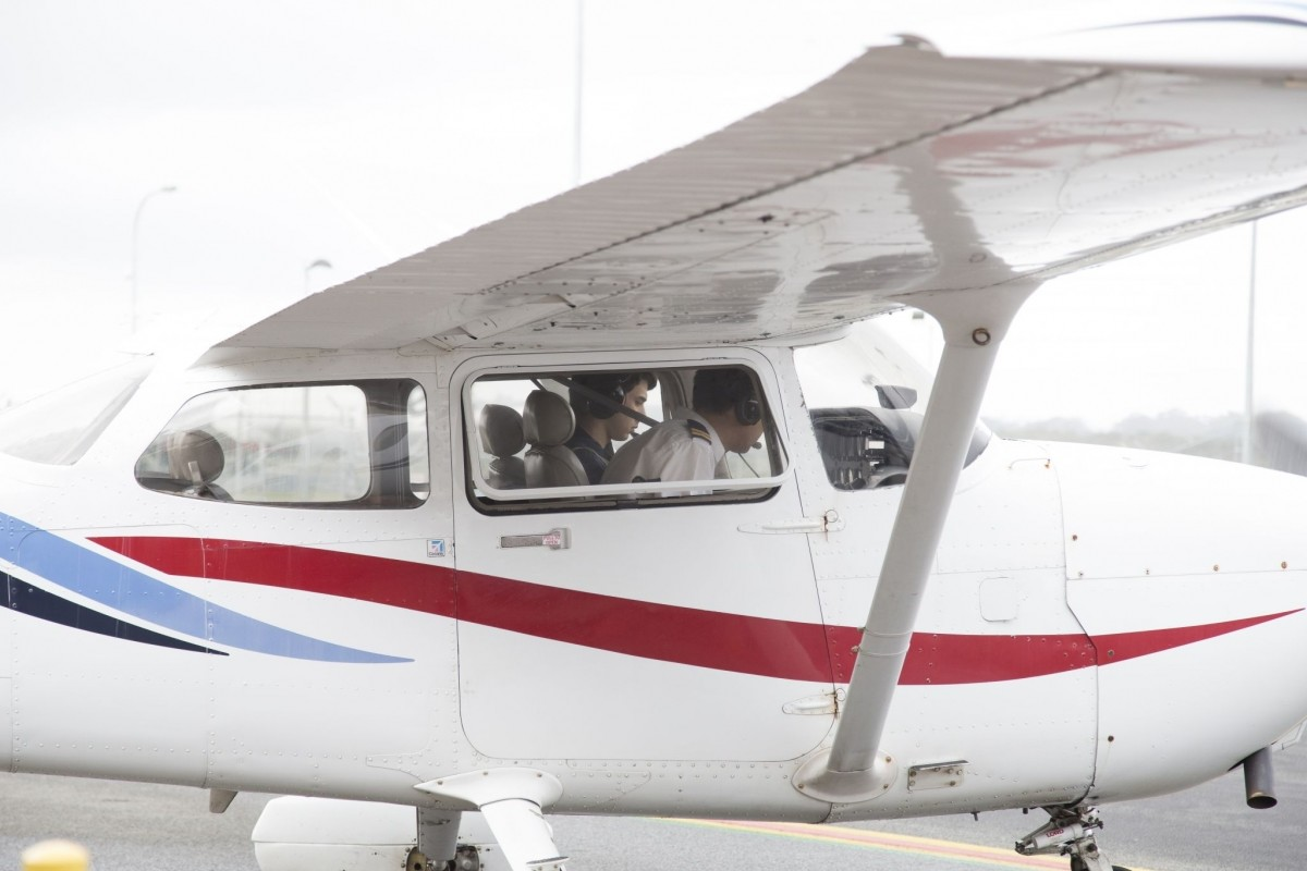 Preparing for Trial Flight at Air Gold Coast
